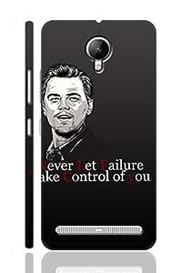 AMAN Leonardo Dicaprio 3D Back Cover for Lenovo Vibe C2