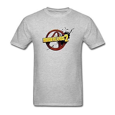 UKC5BD - T-shirt - Homme - Gris - XX-Large