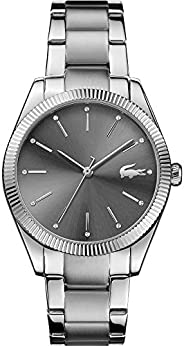 Lacoste Womens Quartz Watch, Analog Display and Stainless Steel Strap 2001081