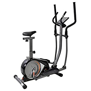 41wIrldhKdL. SS300  - V-Fit PMCE-1 Programmable Magnetic 2-in-1 Cycle-Cross Trainer