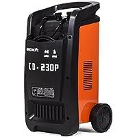 Greencut CD-230P Cargador Automático de Baterías Multifunción 12V/24V, 230A, Naranja