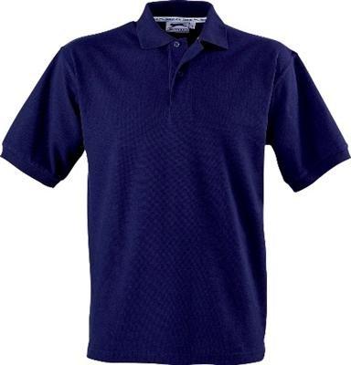 Slazenger Polo Hemd Poloshirt aus 100 % Baumwolle für Freizeit, Tennis oder Golf in 23 Farben und den Grössen S, M, L, XL und XXL Navy,L