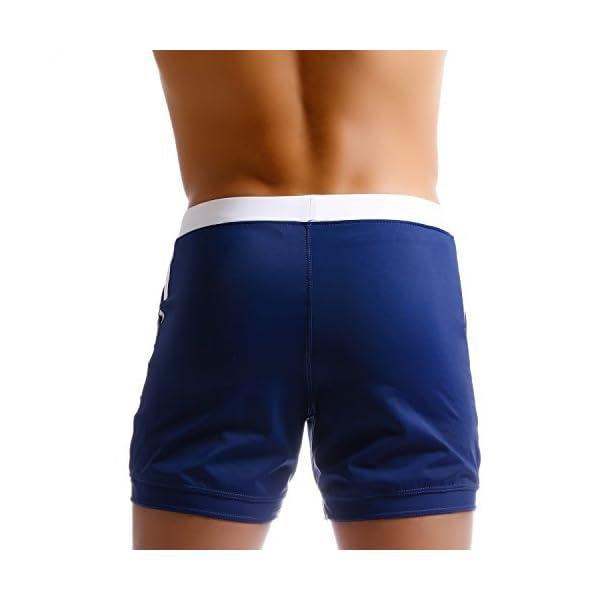 Costumi da Bagno Taddlee Compatti Essenziali per Lunghe Nuotate Boxer a Pantaloncini Lunghi Costumi da Bagno Short per Surf
