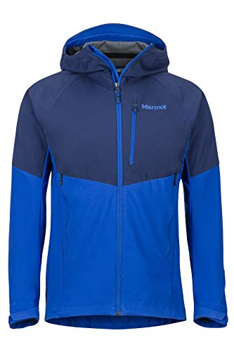 Marmot Herren ROM Softshelljacke Funktions Outdoor Jacke, Wasserabweisend, Arctic Navy/Sur