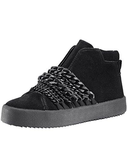 Kendall & Kylie Duke Sneaker di Camoscio Nero Donna Nero