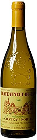 Chateau Fortia Chateauneuf-du-Pape White Rhone Valley 2012 Wine 75 cl