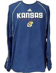 Kansas Jayhawks NCAA Fleece Crew Pullover