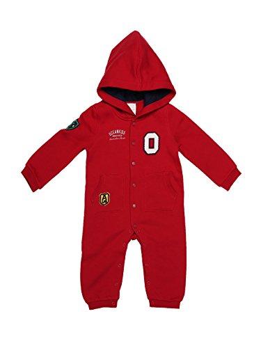 oceankids-rosso-tuta-stile-casacca-con-bottoni-e-scatto-cappuccio-e-polsini-a-coste-da-bambino-e-bam