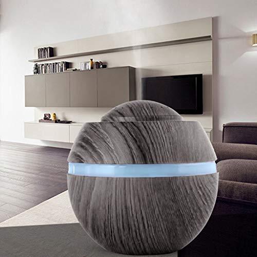 Aroma Diffuser, ZHANSANFM 500ml Luftbefeuchter Düfte Ultraschall Humidifier Raumbefeuchter Duftlampe Öle Diffusor LED Automatische Abschaltung Leise Aromatherapie für Wohn-, Baby Schlafzimmer