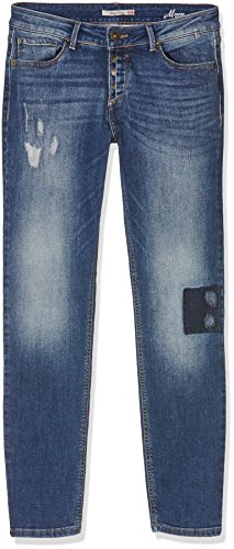 H.I.S Damen Skinny Jeans Blau (greatest 9714)