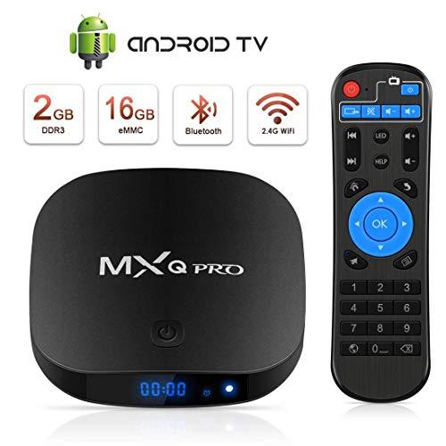 Android TV Box Boîtier TV 3D+4K Mxq Pro Android Smart TV, avec HD/H.265 / 4K / 3D / BT
