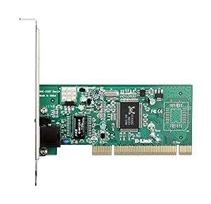 D-Link DGE-528T Gigabit Ethernet Adapter, 1000/100/10MBit, PCI Bus 2.2, 32 Bit, Netzwerkkarte