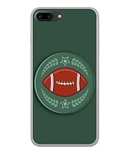 PrintVisa Designer Back Case Cover for Apple iPhone 7 Plus (Love Lovely Attitude Men Man Manly)