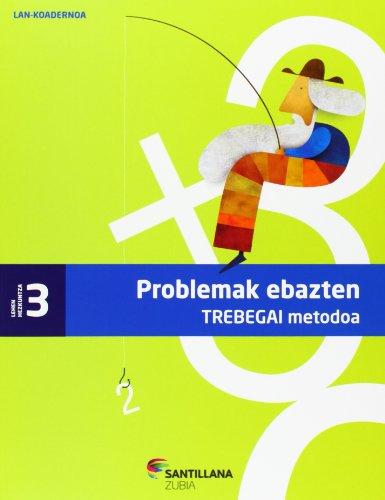 KOAD PROBLEMAK EBAZTEN TREBEGAI METODOA 3 LEHEN - 9788498943689