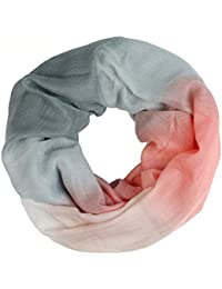 Glamexx24 Neue Kollektion Damen schal leichter Langschal Loop Schlauchschal Tuch Viele Farben