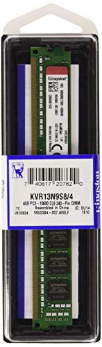 Kingston KVR13N9S8/4 - Memoria RAM 4 GB PC3-10600