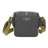 Vanguard Veo Travel 14Bk Fotoğraf Kamerası Çantası, Siyah/Haki