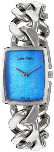 Calvin Klein Femmes Analogique Quartz Montre avec Bracelet en Acier Inoxydable K5D2M12N