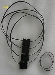 Generic 4pcs/lot 3D Printer DIY Parts For Ultimaker 2 UM2 Original Injection Slider With Copper Sleeve + GT2 610 Timging Belt