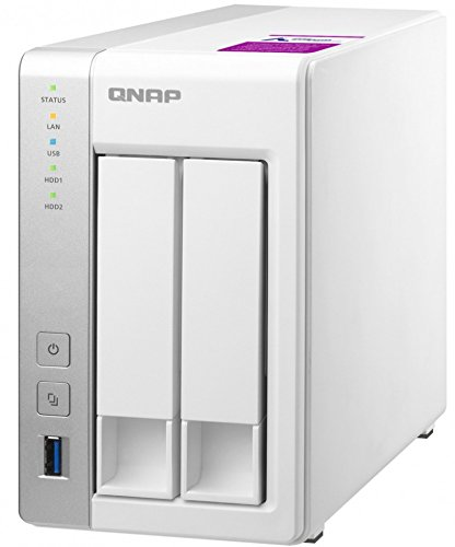 QNAP TS-231P2 4 GB Powerful and Affordable 4 Bay Network Attached Storage