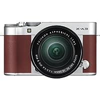 Fujifilm Systemkamera X-A3 mit XC 16-50mm F3.5-5.6 OIS II Kit braun