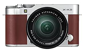 Fujifilm 16531702macchina x A3con XC 16-50mm F3.5-5.6OIS II-Kit marrone