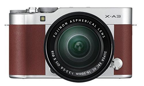 Fujifilm FinePix X-A3 + XC16-50mm (Kit) Brown