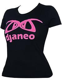 Tee Shirt Femme Djaneo Sao Paulo coton - Tshirt Manches courtes (3 coloris)