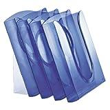 Leitz 54000034 Presenter-Set, A4, Polystyrol, transparent blau