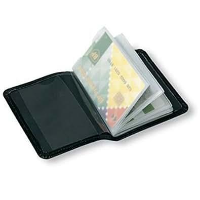 Trevisco Porte-cartes bancaires 12 emplacements Noir