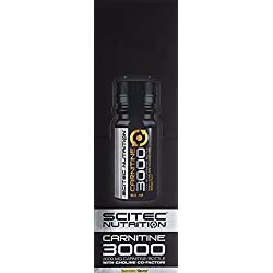 Scitec Nutrition L-Carnitine 3000 Shot- Zitrone 12 x 60ml, 1er Pack (1 x 720 g)