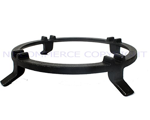 universal cast iron wok support ring cooktop range pan holder stand for gas hob tout. Black Bedroom Furniture Sets. Home Design Ideas