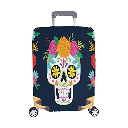 ia De Los Muertos Day Dead Muster Staubschutz Trolley Protector case Reisegepäck Beschützer Kofferabdeckung 28.5 X 20.5 Zoll ()