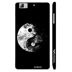 Lenovo K 900 Ying Yang designer mobile hard shell case by Enthopia