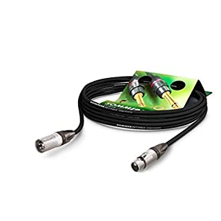 Sommer Cable AES/EBU - DMX512 110 Ohms SC-Binary 234 MKII XLR Male 3 Points Neutrik NC3MXX / XLR Female 3 Points Neutrik NC3FXX, Black 5m Black