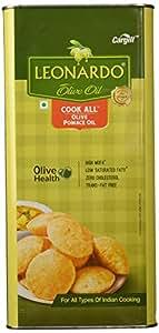 Leonardo Pomace Olive Oil Tin, 5L