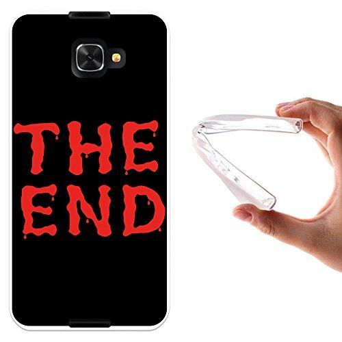 WoowCase Alcatel Idol 4S Hülle, Handyhülle Silikon für [ Alcatel Idol 4S ] The End Handytasche Handy Cover Case Schutzhülle Flexible TPU - Transparent