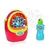 Best Bubbles For Kids - Kids Bubble Machine for Halloween Parties, Portable Bubble Review