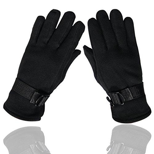 Handschuhe Warm Outdoor Aktivitäten Reiten Ski Winter Warme Handschuhe Rutschfeste Abriebfeste Polar Fleece Handschuhe für Unisex (Polar-fleece-handschuhe)