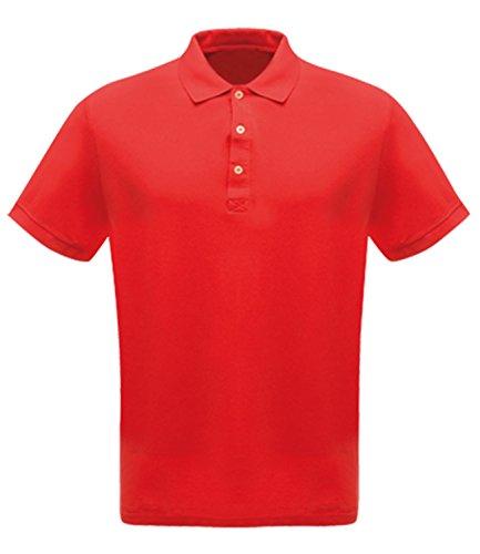 Regatta Herren Classic 65/35Workwear Polo Shirt Rot - Rot