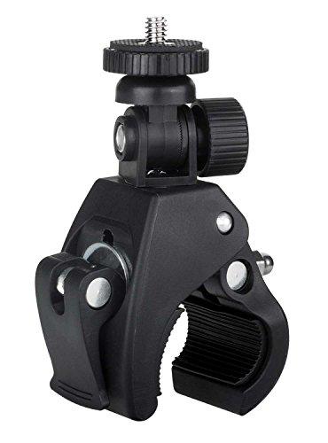 yayago Fahrrad Rohrklemme (Rohrdurchmesser von ca. 1,5cm - ca. 3,6cm) Halterung für Nikon KeyMission 80 / 170 / 360