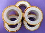 Multipurpose Plumber Teflon Tape (Pack of 3) for water filter pipe fittings,Aquarium,Washing Machine,Water Tap..........A better Spare to keep in Handy in your Tool Box to fix when there is a leak or breakage in water lines ............... Ideal Prod...