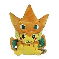 Pokemon Center Mega Tokyo Pikazard Pikachu Charizard Plush Toys