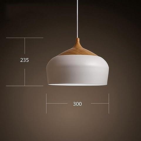 SSBY Tabella nordica di semplice personalità creativa in stile Giapponese sala da pranzo Camera da letto soggiorno ufficio moderno lampadario bianco , p3729s luce gialla