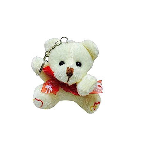 Romantic Soft Toy Teddy Love Couple Valentines Day Gift Key Chain  available at amazon for Rs.149