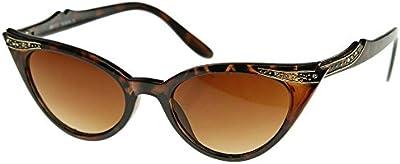 Gafas de sol KISS ® mod. PIN-UP cristales gato ojo-mujer moda vintage COOL gafas de sol