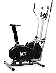 We R Sports 2-in-1 Elliptical Cross Trainer and Exercise Bike -
