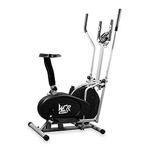 We r sports v lo d 39 appartement et v lo elliptique 2 en 1 entrainement car - Cardio training velo elliptique ...