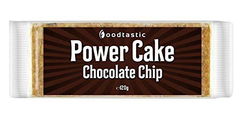 Chip-basis (Foodtastic Power Cakes Choco Chip Box (30 x 120 g) | leckere und saftige Haferriegel | Handgemachte Flapjack Energieriegel auf Haferflocken Basis)