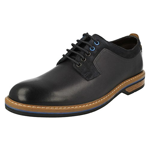 CLARKS Clarks Mens Shoe Pitney Walk Dark Blue Blau